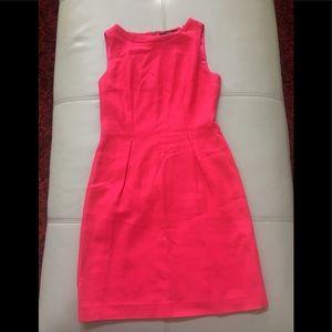 Tahari hot pink pencil dress